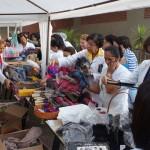Bazar para angariar fundos para as ações do grupo