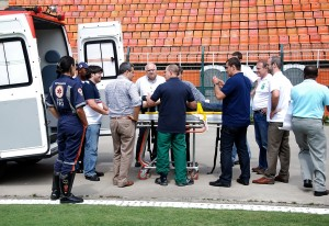 NO estádio, treinamento prático