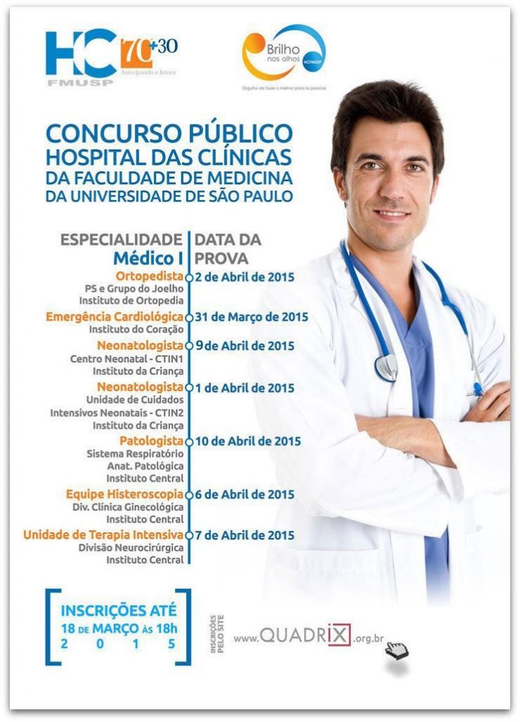 Cartaz HC Medicos 2015