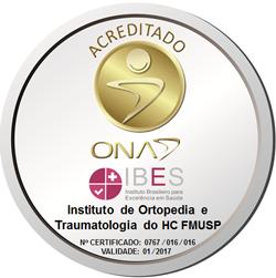 Acreditado pela ONA IBES - Instituto Brasileiro para Excelência em Saúde